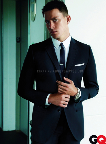 Channing Tatum Featured in August 2009 GQ Magazine