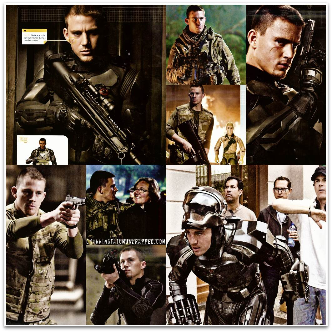 Channing Tatum in 'G.I. Joe: Rise of Cobra'