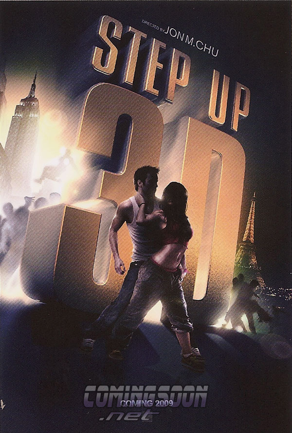 'Step Up 3-D' Poster