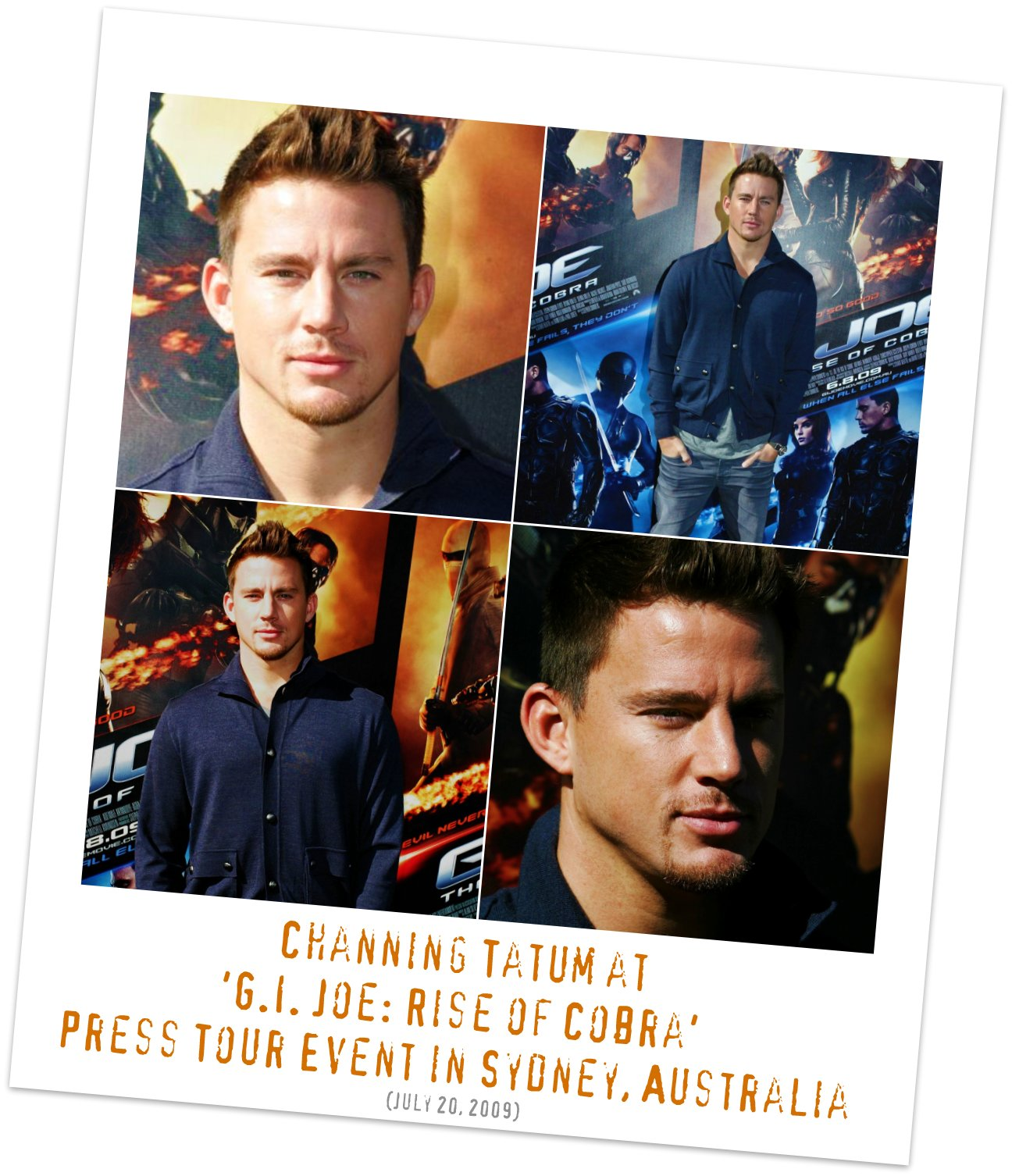 Channing Tatum on the 'G.I. Joe: Rise of Cobra' Press Tour