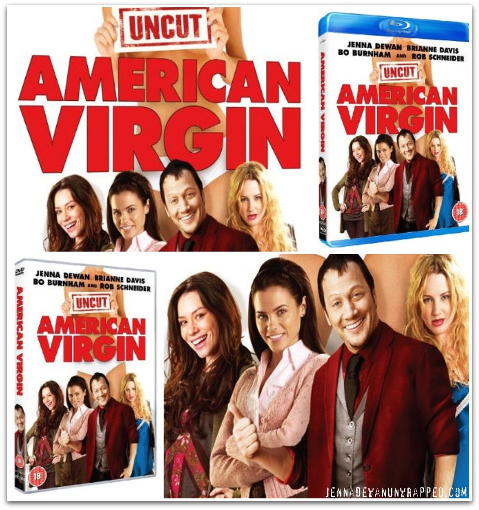 Jenna Dewan American Virgin DVD and Blu-ray
