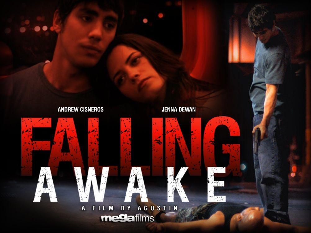 Poster for Jenna Dewan's 'Falling Awake'