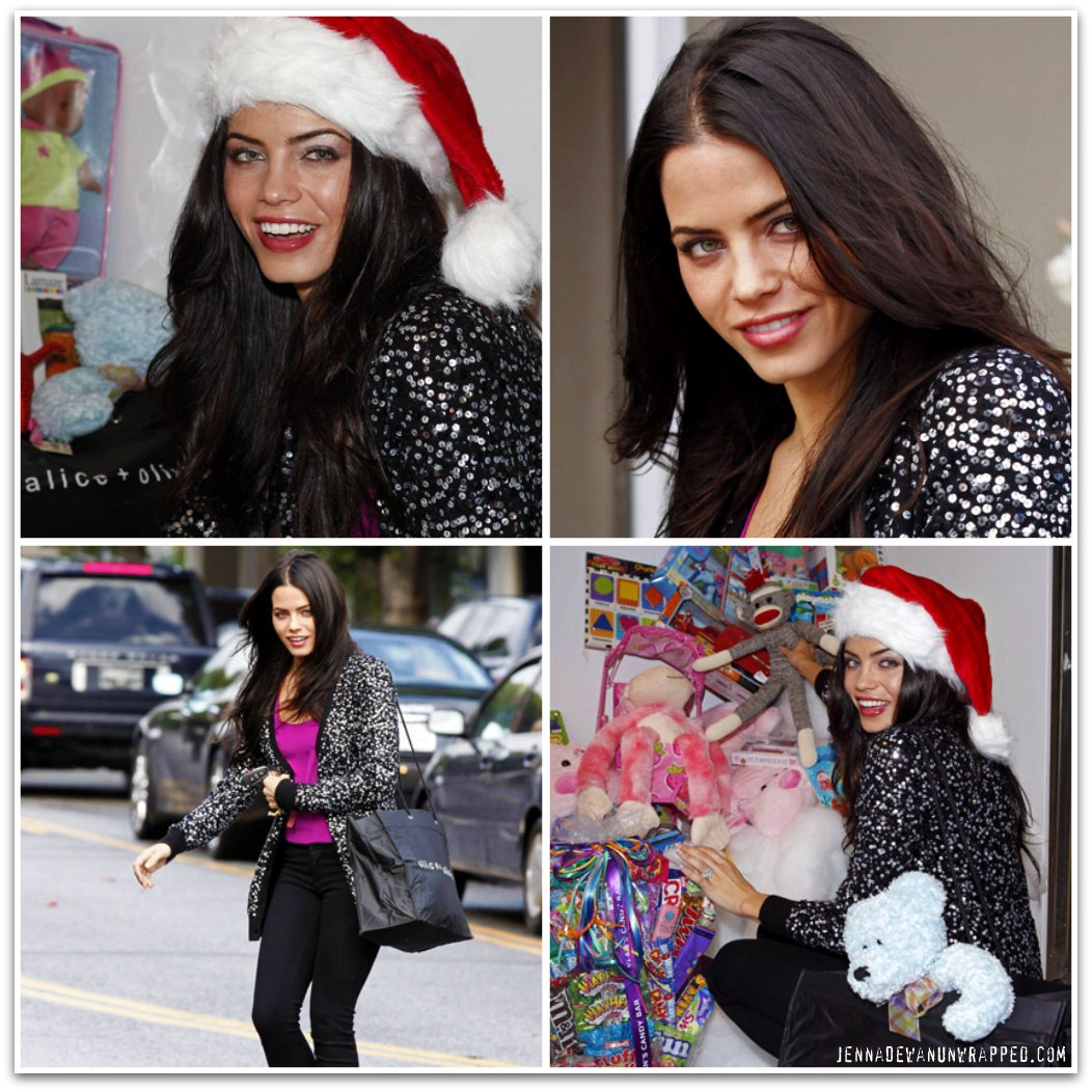 Jenna Dewan-Tatum Launches Alice + Olivia 2009 Toy Drive