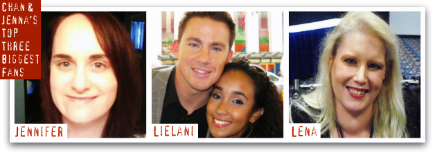 Channing Tatum and Jenna Dewan-Tatum's Top Three Biggest Fans