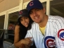 Chan and Jenna Cubs Game