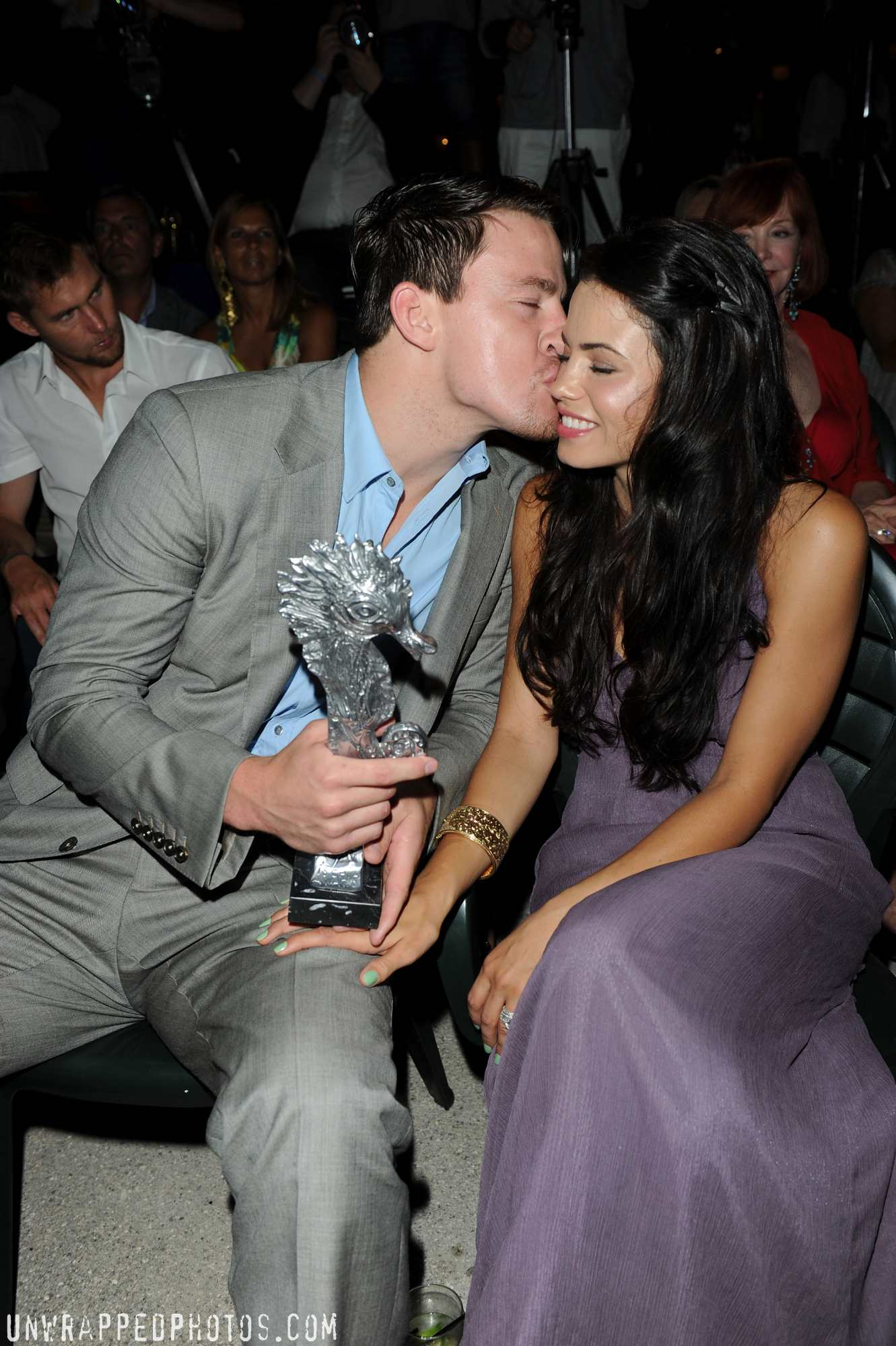 Channing Tatum and Jenna Dewan-Tatum at Italy's Ischia Film Festival