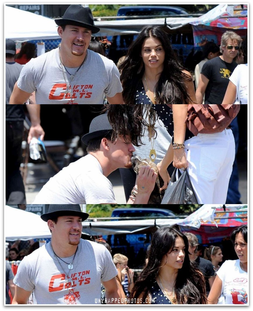 Channing Tatum and Jenna Dewan-Tatum… Back Home in LA