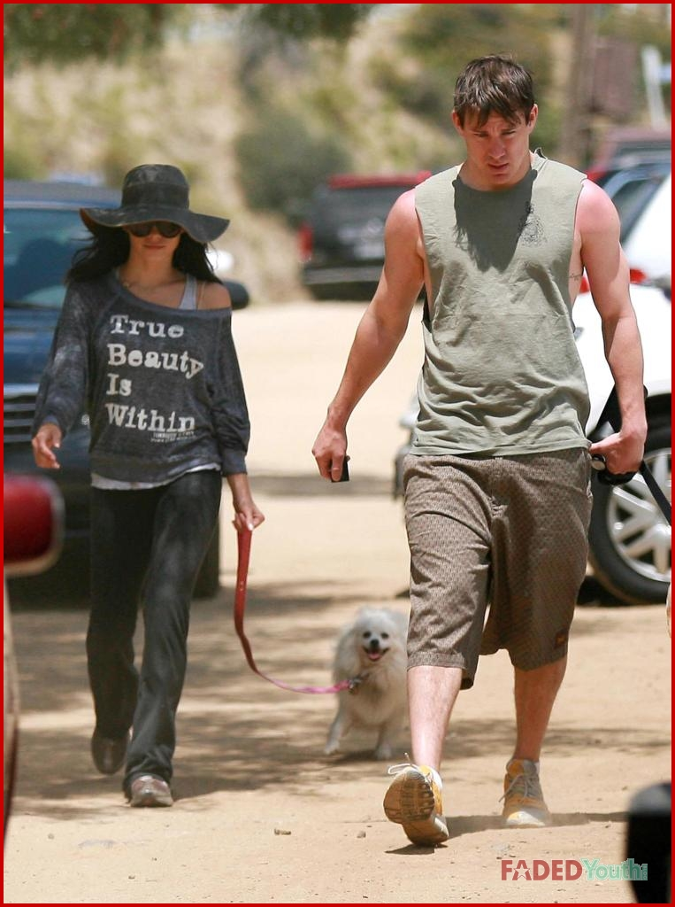 Jenna Dewan-Tatum & Channing Tatum: Runyon Canyon Couple