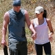 Channing Tatum and Jenna Dewan-Tatum Meeka and Lulu at Runyon Canyon