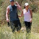 Channing Tatum and Jenna Dewan-Tatum Walking Meeka and Lulu at Runyon Canyon
