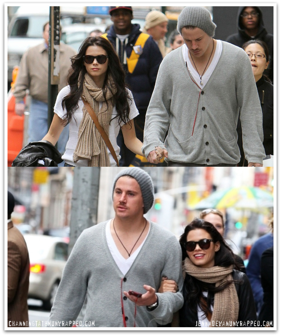 Chan and Jenna Shopping in Soho