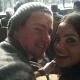 Channing Tatum & Jenna Dewan-Tatum at Randy Couture Fight in Las Vegas
