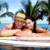 Channing Tatum and Jenna Dewan at LG Villa