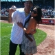 Channing Tatum and Jenna Dewan-Tatum at Cubs Game (June 19, 2010)