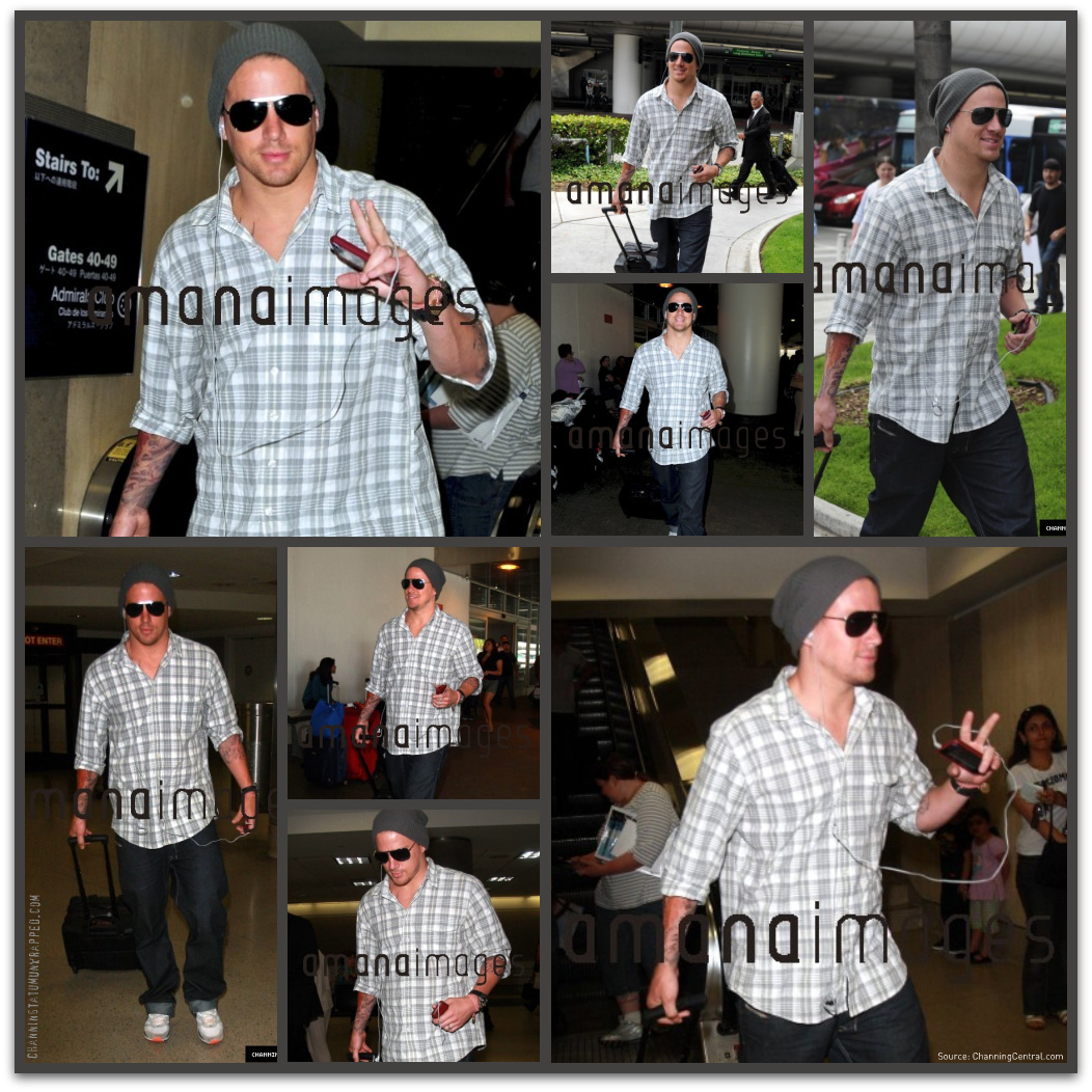 First Look at Channing Tatum's New 'Cheaters' Tattoos