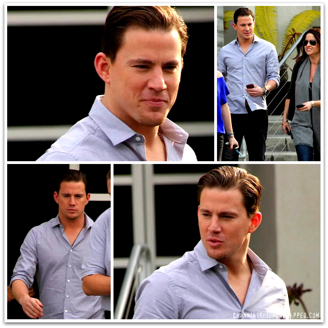 Channing Tatum Leaving Chelsea Lately