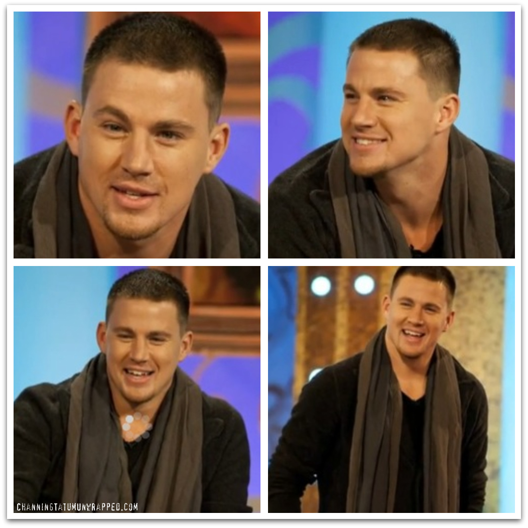 Channing Tatum Promoting 'Fighting' on the UK's Paul O'Grady Show on May 6, 2009 (Wallpaper)