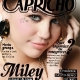 Miley Cyrus on the Cover of May 2010 Capricho (Brazil)