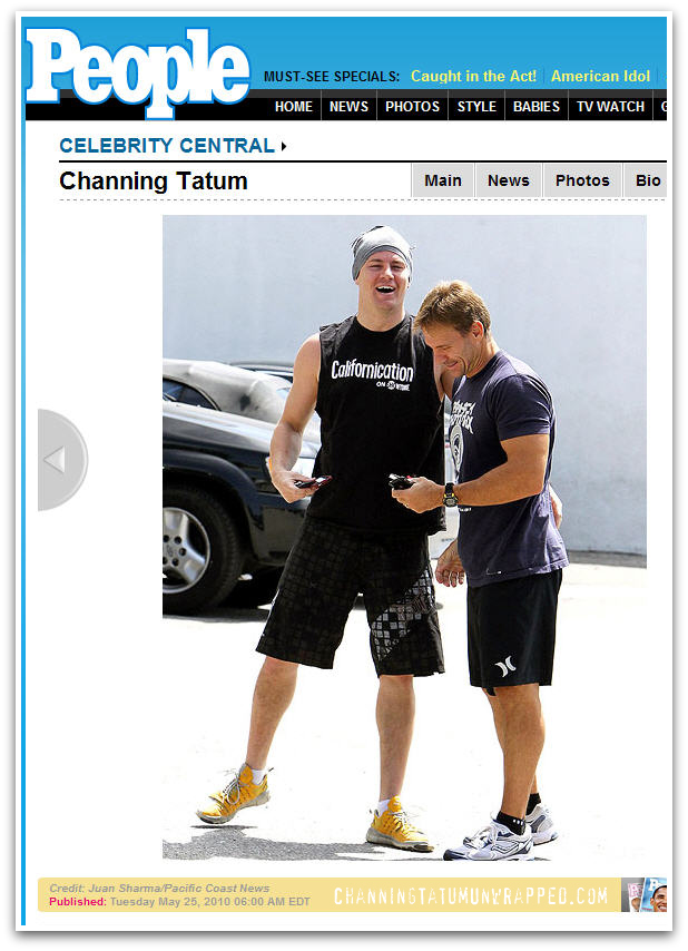 Channing Tatum Heads to the Gym