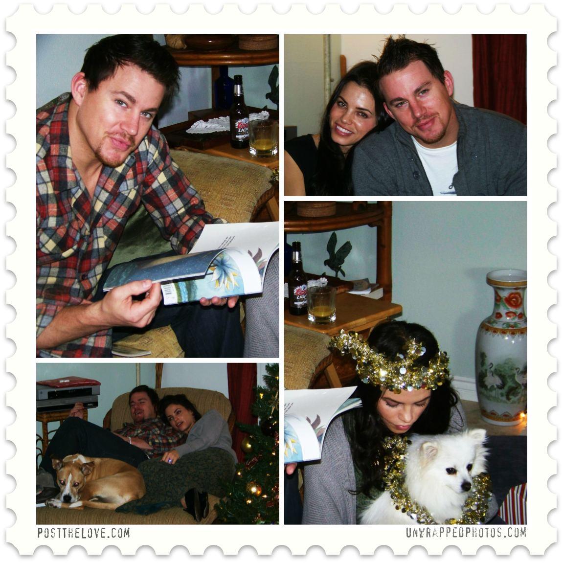 Happy Holidays from Channing Tatum & Jenna Dewan-Tatum