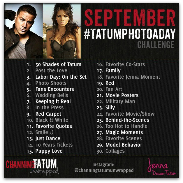 Join Our Tatum Photo-A-Day Challenge!!!