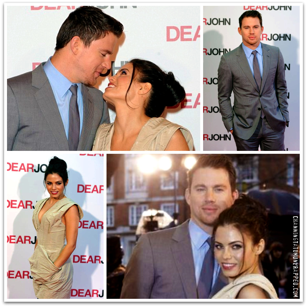 Channing Tatum and Jenna Dewan-Tatum at 'Dear John' UK Premiere and After-Party