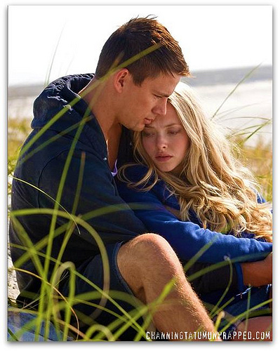 Channing Tatum and Amanda Seyfried in 'Dear John'