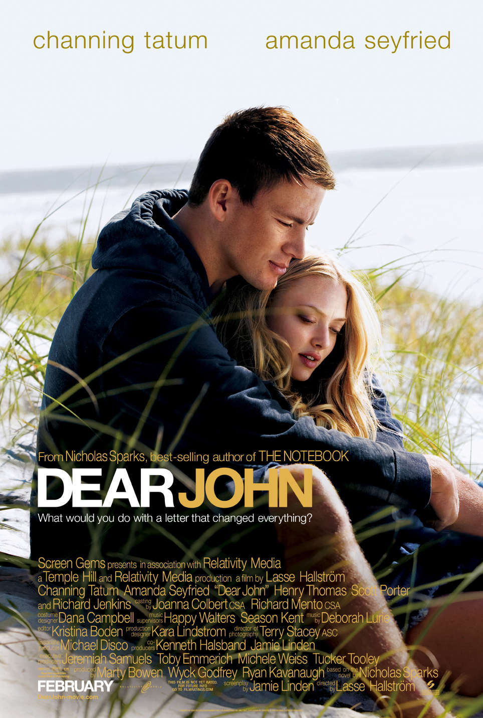 FIRST LOOK: Official Poster for Channing Tatum's 'Dear John'