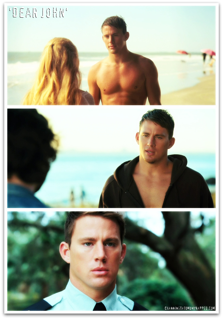 Trailer Screen Caps of Channing Tatum in 'Dear John'