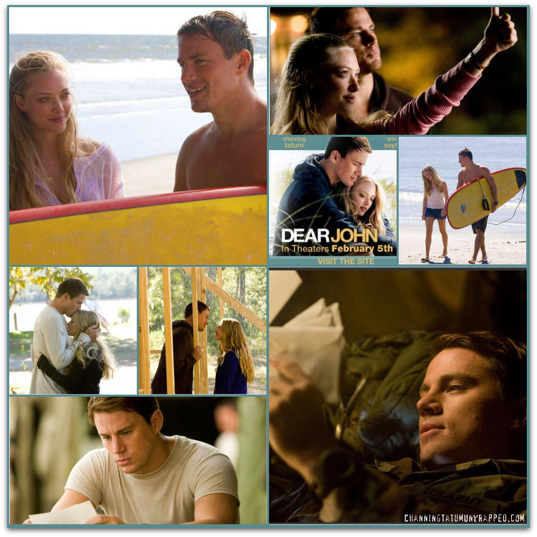 New Promotional Stills for Channing Tatum's 'Dear John'