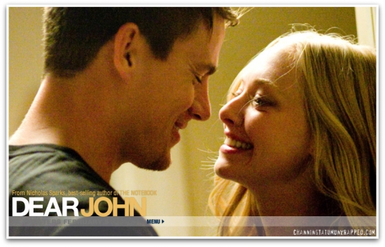 Channing Tatum and Amanda Seyfried in 'Dear John' Header