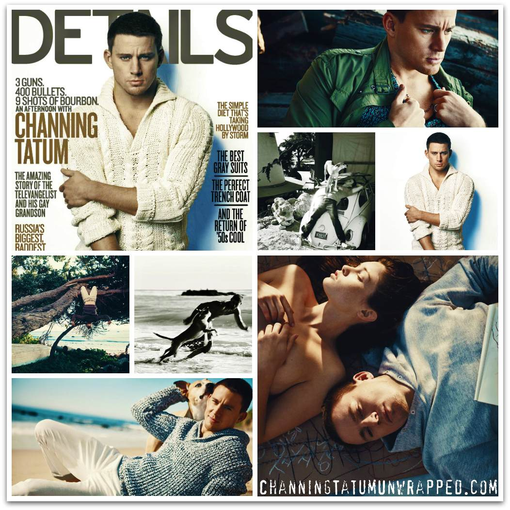 Channing Tatum and Jenna Dewan-Tatum's January Press
