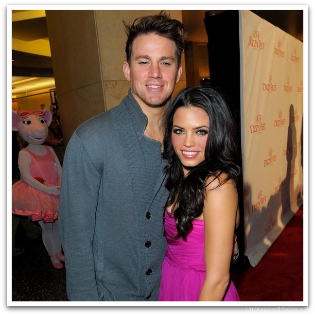 Channing Tatum and Jenna Dewan-Tatum at Dizzy Feet 2009 Benefit Gala