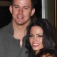 Channing Tatum and Jenna Dewan-Tatum at Dizzy Feet Foundation 2009 Benefit Gala