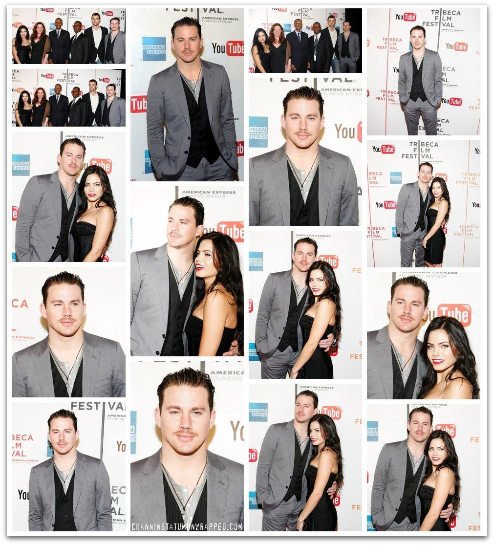 Channing Tatum and Jenna Dewan-Tatum Premiering 'Earth Made of Glass' at Tribeca Film Festival