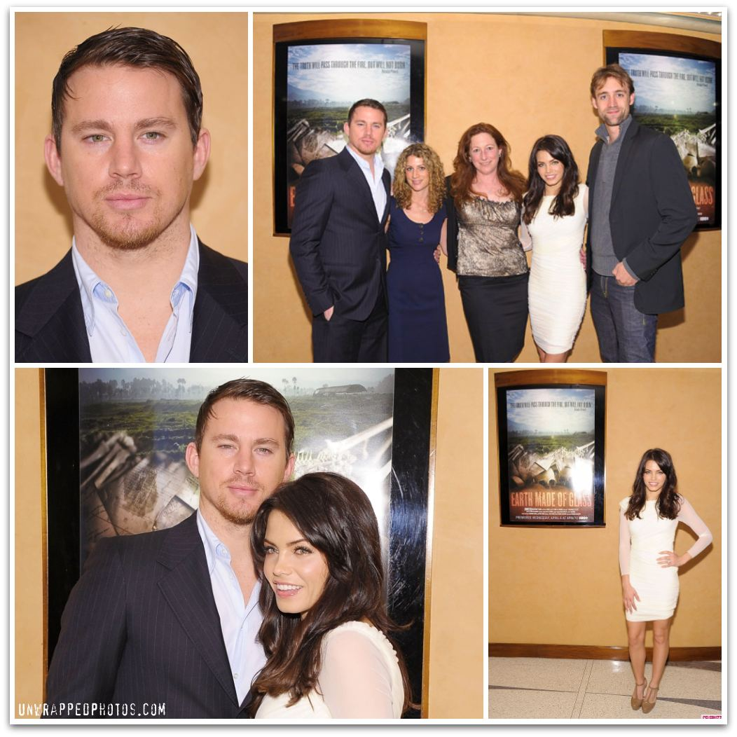 Channing Tatum and Jenna Dewan-Tatum at HBO's 'Earth Made of Glass' Premiere Screening