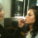 Jenna Dewan-Tatum Getting Her Makeup Done for 'Falling