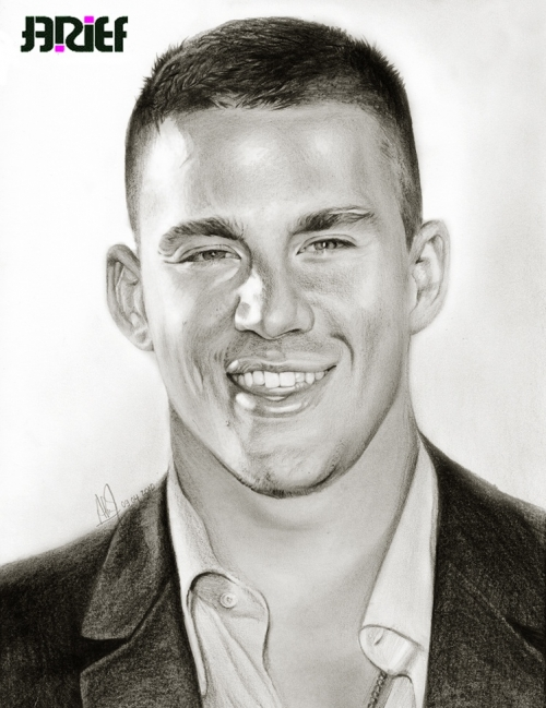 channing_tatum_smile_drawing_by_riefra