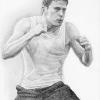 Channing Tatum Fan Art - 'Fighting'