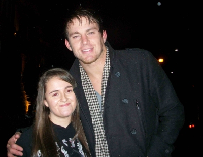 Channing Tatum in Scotland with Fan @kirstyg87