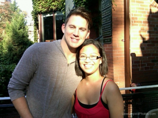 @ChanningTatum with Fan @mreyes87 in Toronto (AUG 28, 2010)
