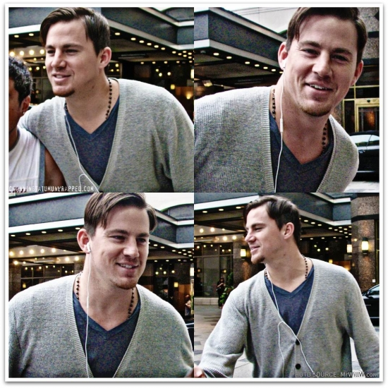 @ChanningTatum in Toronto /via Fan @mrwillw (AUG 21, 2010)