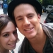 Channing Tatum with Fan in New YorK for the 'G.I. Joe: Rise of Cobra' Press Tour