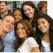 Channing Tatum and Jenna Dewan with Fans on CBS Early Show for 'Step Up'
