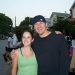 Channing Tatum with a Fan on the Set of 'Step Up 2'