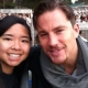 @ChanningTatum at 'Rent' at the Hollywood Bowl with Fan @Candacehatago