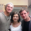 Channing Tatum, @triciamaclennan, and Jamie Bell in Achiltibuie, Scotland