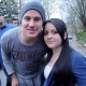 Channing Tatum with Fan on the Set of 'Son of No One'