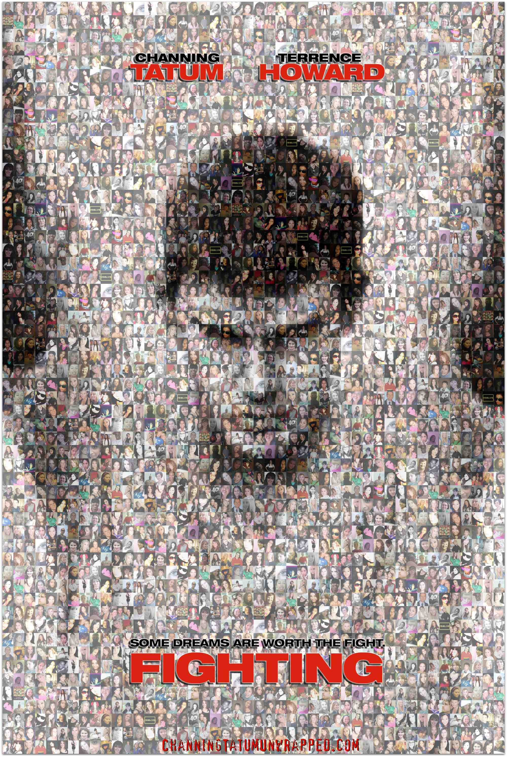 CTU Exclusive: Channing Tatum 2009 Birthday Gift from Channing Tatum Unwrapped and Its Readers (Photo Mosaic)