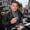 Channing Tatum Promoting 'Fighting' in the UK